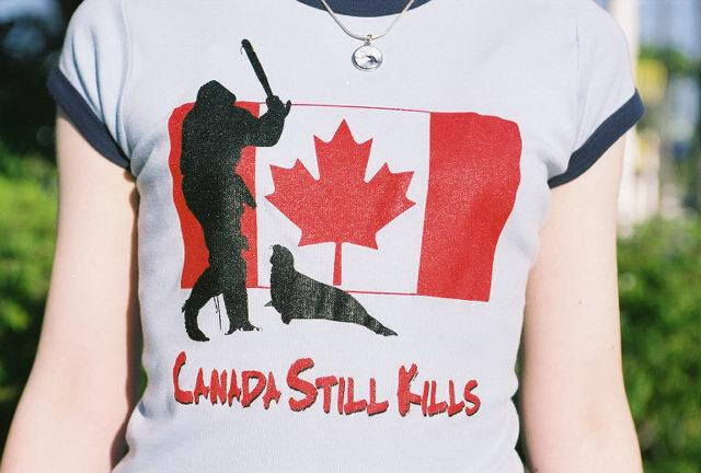 Canada Still Kills Baby Doll T-shirt