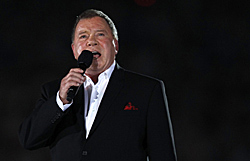 William Shatner - photo Jerry Lampen - Reuters