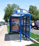 Harpseals.org Bus Shelter Ad