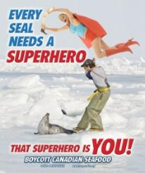 SuperSealWoman Snatches Hakapik and Saves Seal