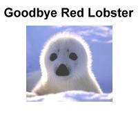 Harpseals.org's Goodbye Red Lobster Cards