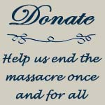 Donate to help end the massacre of seals