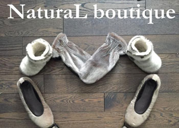 natural boutique ad