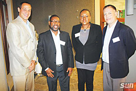 Namibian tourism executives